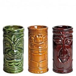 TIKI Glass - HOME PACK, 3pcs/ set (Ceramic)