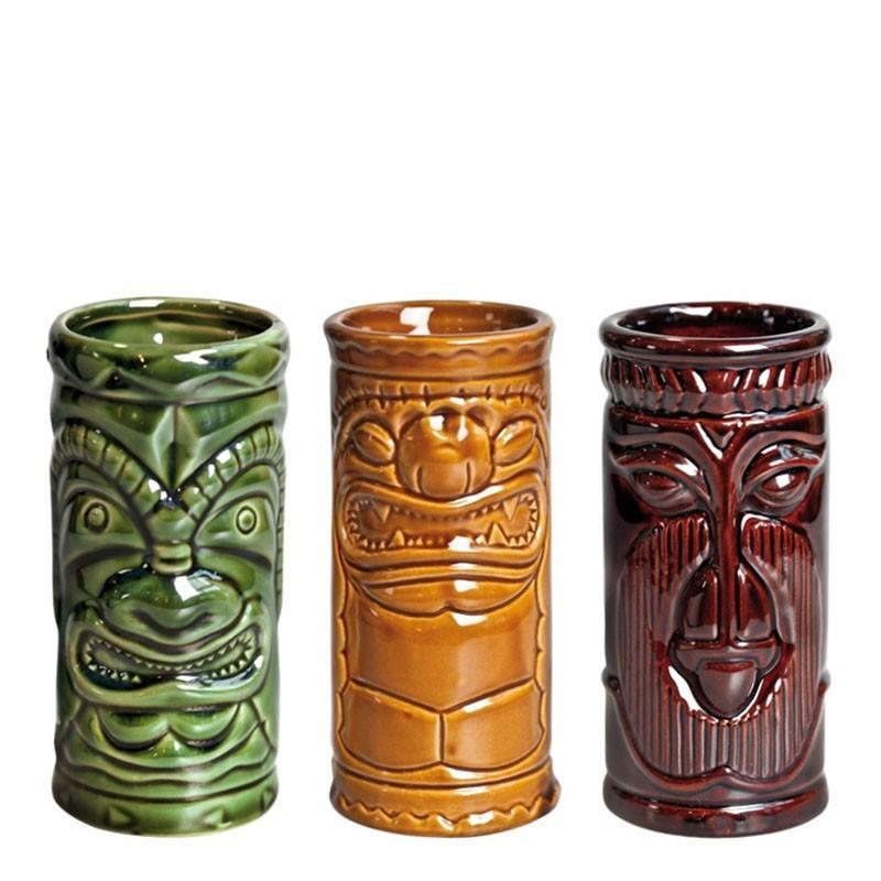 TIKI - 3buc/ set, 250ml (Ceramic)
