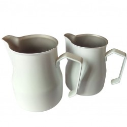 Milk Jug/ Pitcher MOTTA Alb, 350ml - Latiera Metal