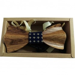 Wood Bow Tie - 3D