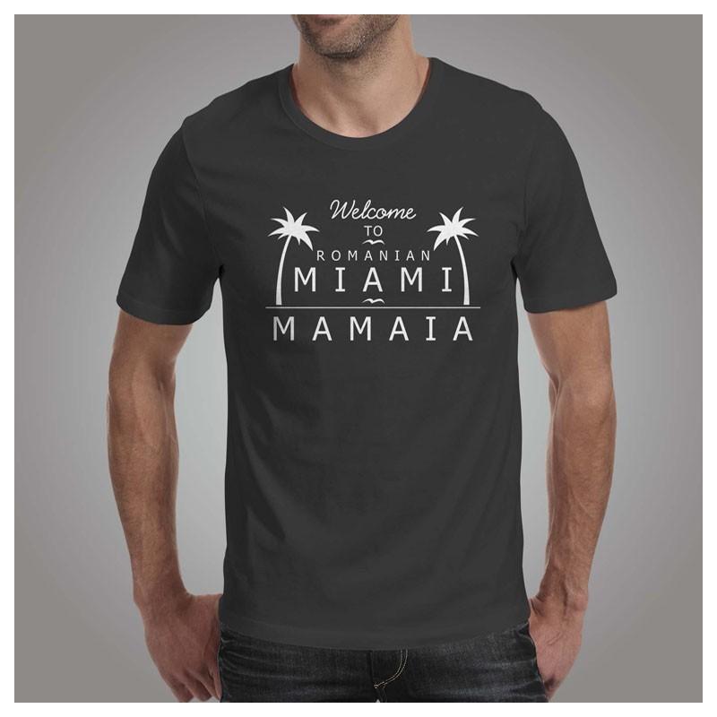 Tricou - Miami (Barbati) Gri