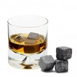 Granit Cube, 9pcs Set - Whisky Stones