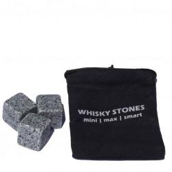 Cuburi Granit, Set 9 buc (Multicolor) - Whisky Stones