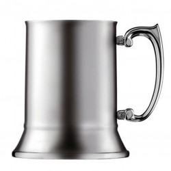 Steel Tankard BLUE BLAZER - Cana Metal, 450ml