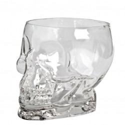 Pahar TIKI - Craniu /Skull Glass, 700ml (Sticla)