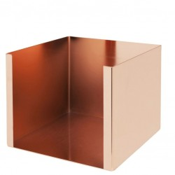 Bar Caddy Metal / Napkin Holder - Copper