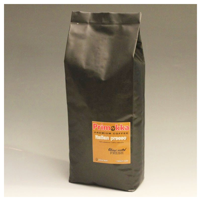 "Semiramis - PRIMOKKA ""Italian Presso"" Blend - Cafea Boabe, 1Kg"