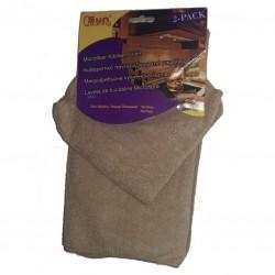 Barista Cloth/ Towel, 2pcs - Brown