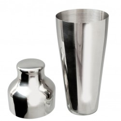 French Shaker EXCLUSIVE, Chrome (MEZCLAR) - 500ml