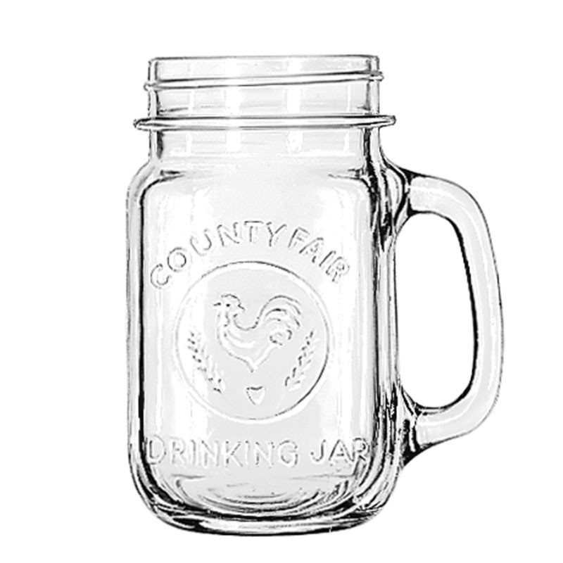DRINKING JAR / Caraffe for Lemonade, 473ml