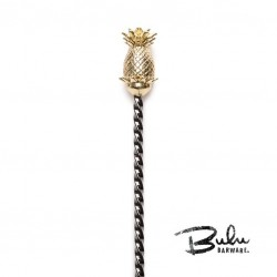 Bar Spoon GunMetal BULU Pineapple, 33.5cm
