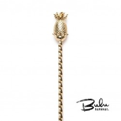 Bar Spoon Gold BULU Pineapple, 33.5cm