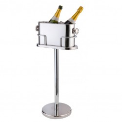 DeLuxe Double Champagne/ Wine Cooler with Stand