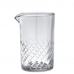 AOYAMA SPIRAL M - Mixing / Stirring Glass, 350ml - Pahar Sticla
