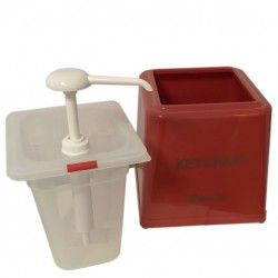 Ketchup Pump Dispenser, 2500ml
