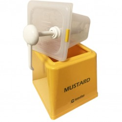 Mustard Pump Dispenser, 2500ml