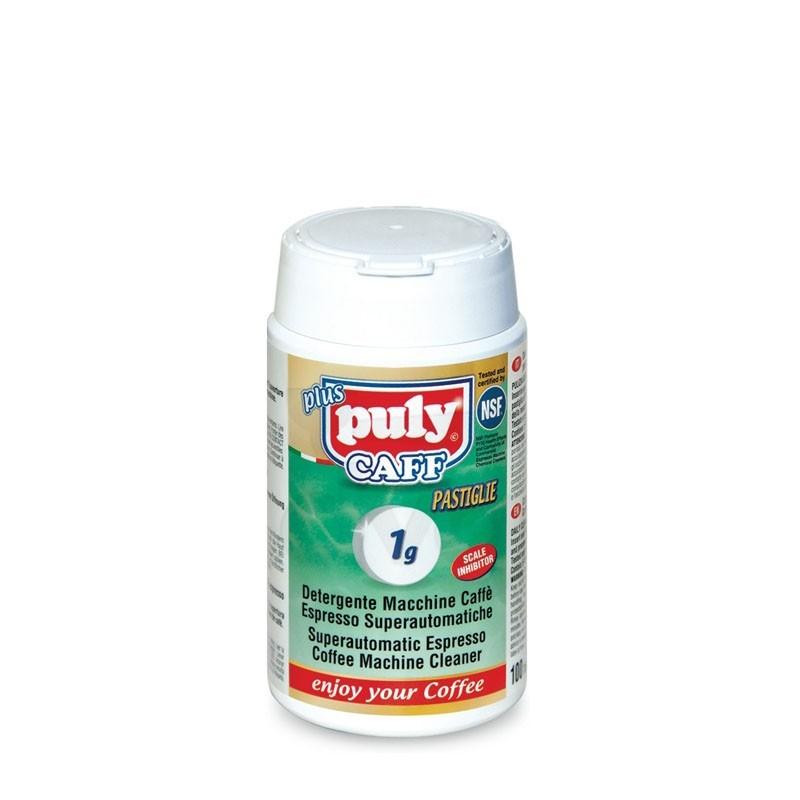 Detergent TABLETE [PULY] CAFF Plus - pentru Curatat Aparat Espressor, 100 *1g