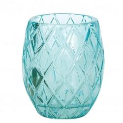 Recipient Sticla pentru Lumanari - Turquoise
