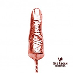 "GAZ REGAN ""NEGRONI FINGER Stirrer"" - Copper Plated, Bar Spoon"