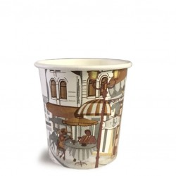 Take Away Paper Cups (coffee 2 go),  4oz - 50pcs /set