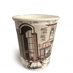 Take Away Paper Cups (coffee 2 go),  8oz - 50pcs /set