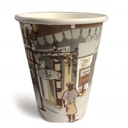 Take Away Paper Cups (coffee 2 go), 14oz - 50pcs /set