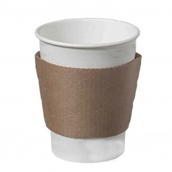 Coffee Sleeve - Hot Cup Jacket/ Collar