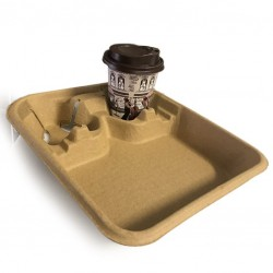 Fast Food Tray for Drink &...