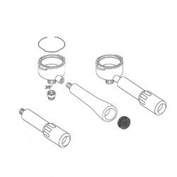 Filter Spring (1 .4 mm) - 3 Sides Straight