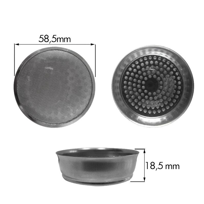 Sita Dus Ø 58 .5 mm, pentru Grup Aparat Espressor