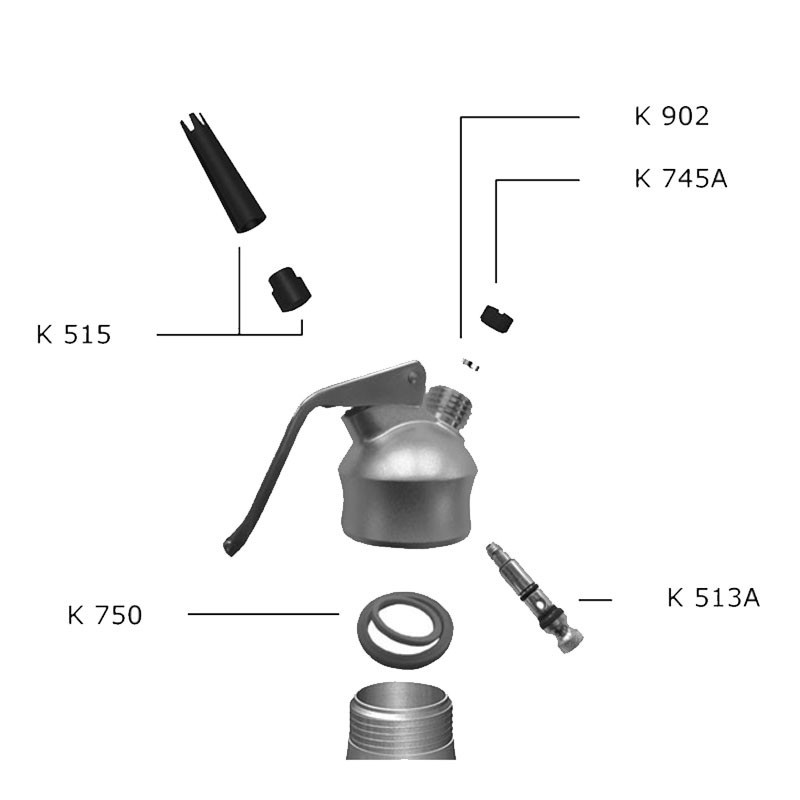 Spare Head for KAYSER Creamer Siphon - Genuine Parts
