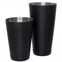 Set of TIN +TIN KORIKO® MATTE BLACK Boston Shaker [COCKTAIL KINGDOM] Weighted