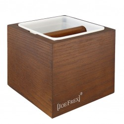 Classic Knock Box [JoeFrex] - Wooden (Brown /Black)