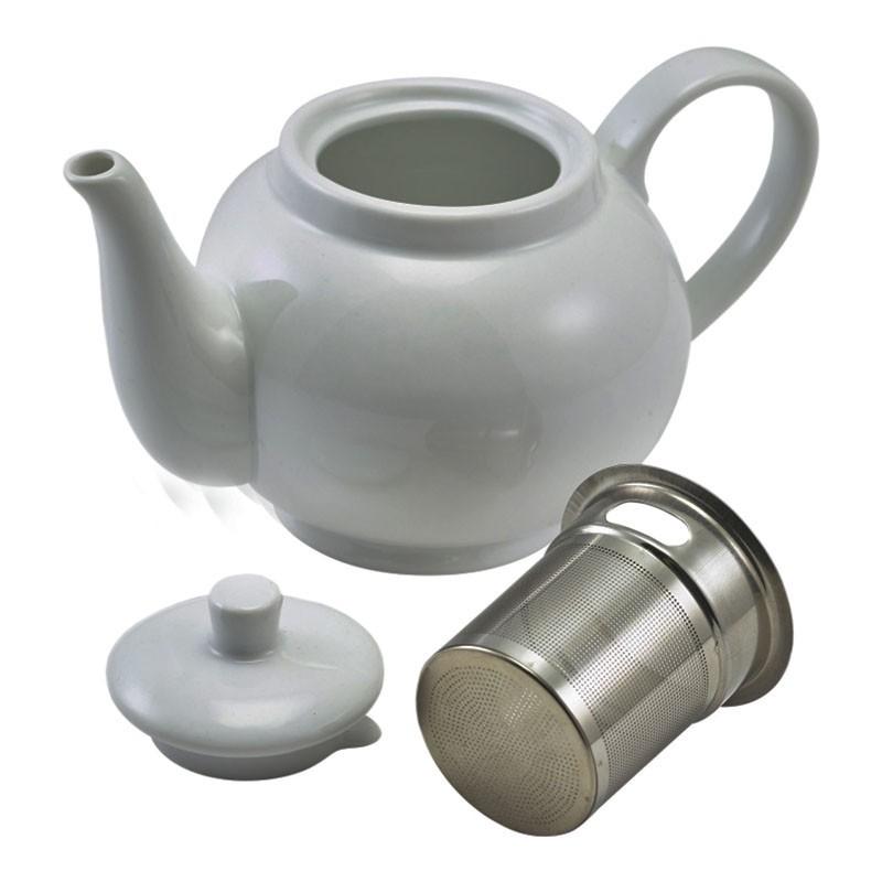 Ceainic Portelan cu Infuzor Inox - ROYAL GENWARE, 450ml