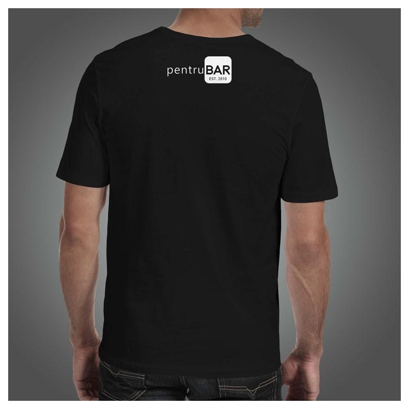 T-Shirt - BARISTA Design (Male) logo pentruBAR