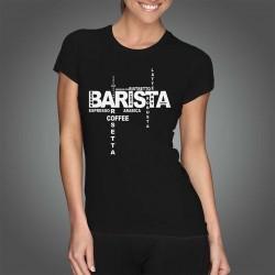 Tricou - BARISTA Design (Femei)