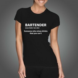 Tricou - BARTENDER (Femei)