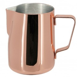 Milk Jug/ Pitcher PROFESSIONAL Rose Gold, 590ml - Latiera Metal