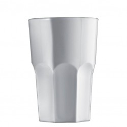 Pahar GRANITY ALB - Long Drink, 400ml (Polycarbonat)