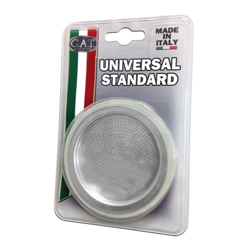 Universal MOKA Blister - Filter with 2 Rubber Gaskets
