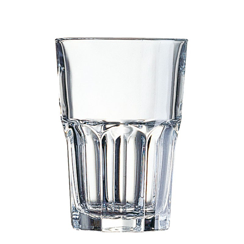 GRANITY Long Drink glasses - CLEAR, 400ml - Polycarbonat