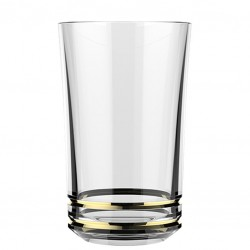 """""""Gold Rings"""" - AETHER Hi-Ball glass, 410ml (LIBBEY)"""