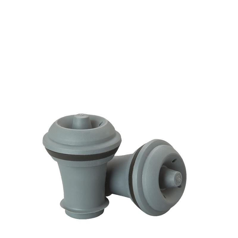 Wine Stopper corks (rubber) - 2pcs /set Grey