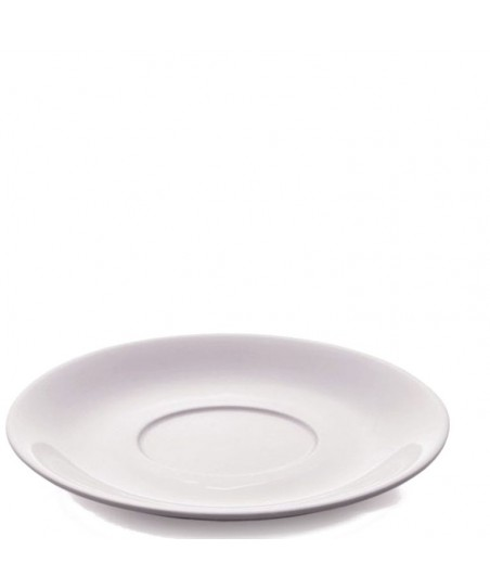 CAPPUCCINO Plate - WHITE Porcelain