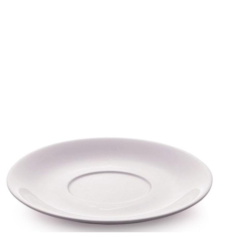 LATTTE Cup Saucer - WHITE Porcelain