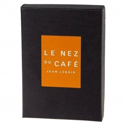 "Set of 6 Aromas + Barista Book - ""Le Nez Du Cafe Temptation"" by Jean Lenoir"