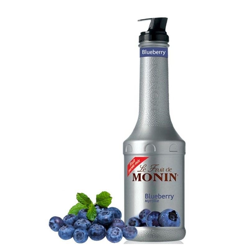 Piure AFINE / BLUEBERRY [MONIN] - Pulpa fructe 1L