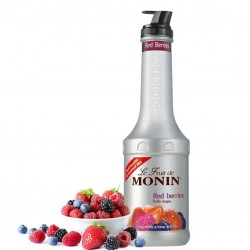 Piure FRUCTE de PADURE / RED BERRIES - Pulpa fructe MONIN, 1L