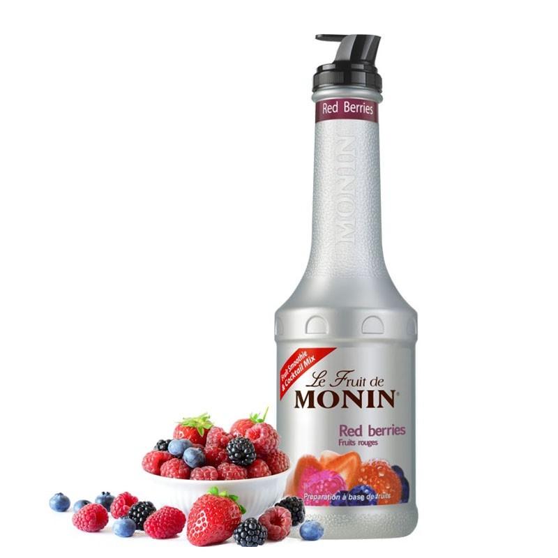 RED BERRIES Fruit Puree - MONIN, 1L