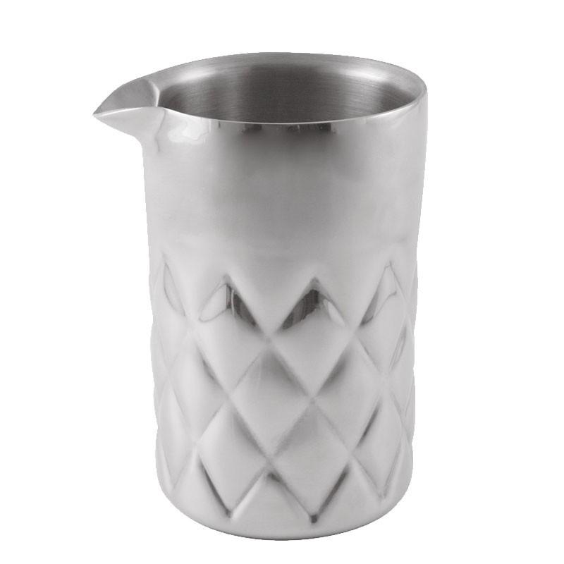YARAI METAL Stirring/ Mixing Glass (THE BARS), 600ml - Pahar Metal